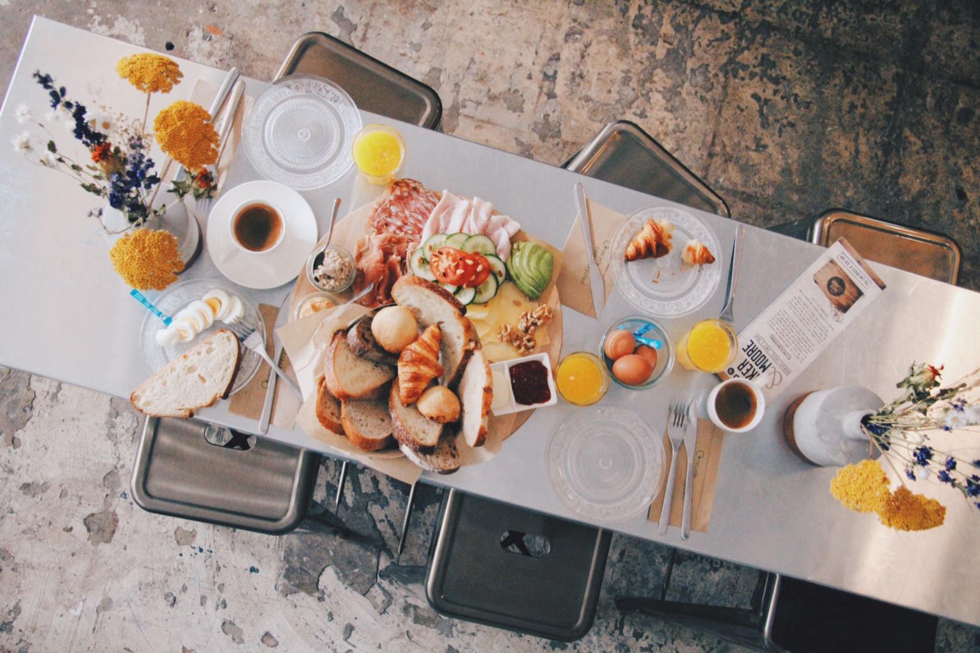 Baker and Moore Rotterdam Lunch brunch en ontbijt Rotterdam